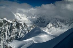 Onset of Winter in Chamonix