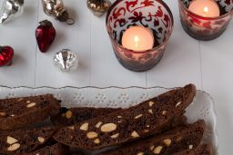 Plate to Plate: Chocolate-Cherry-Almond Biscotti