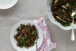 Plate to Plate: Lentil and Radicchio Salad