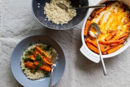 Roasted Carrots and Barley