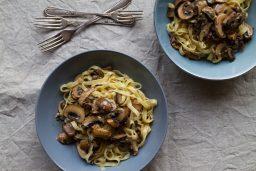 Autumn Mushroom Pasta