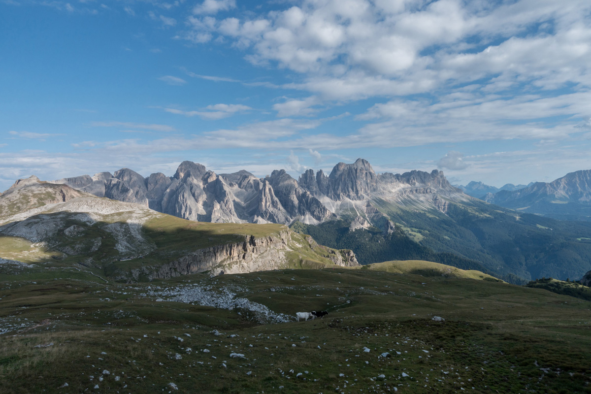 Hiking Through the Dolomites