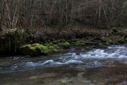 Through a Ravine: Tannertobel