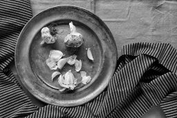 B&W Wednesday: Garlic
