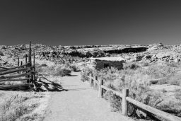 B&W Wednesday: Wolfe Ranch