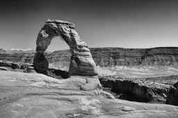 B&W Wednesday: Delicate Arch