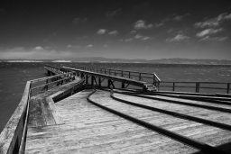 B&W Wednesday: To the Sea
