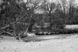 B&W Wednesday: First Snow