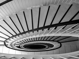 B&W Wednesday: Spiral