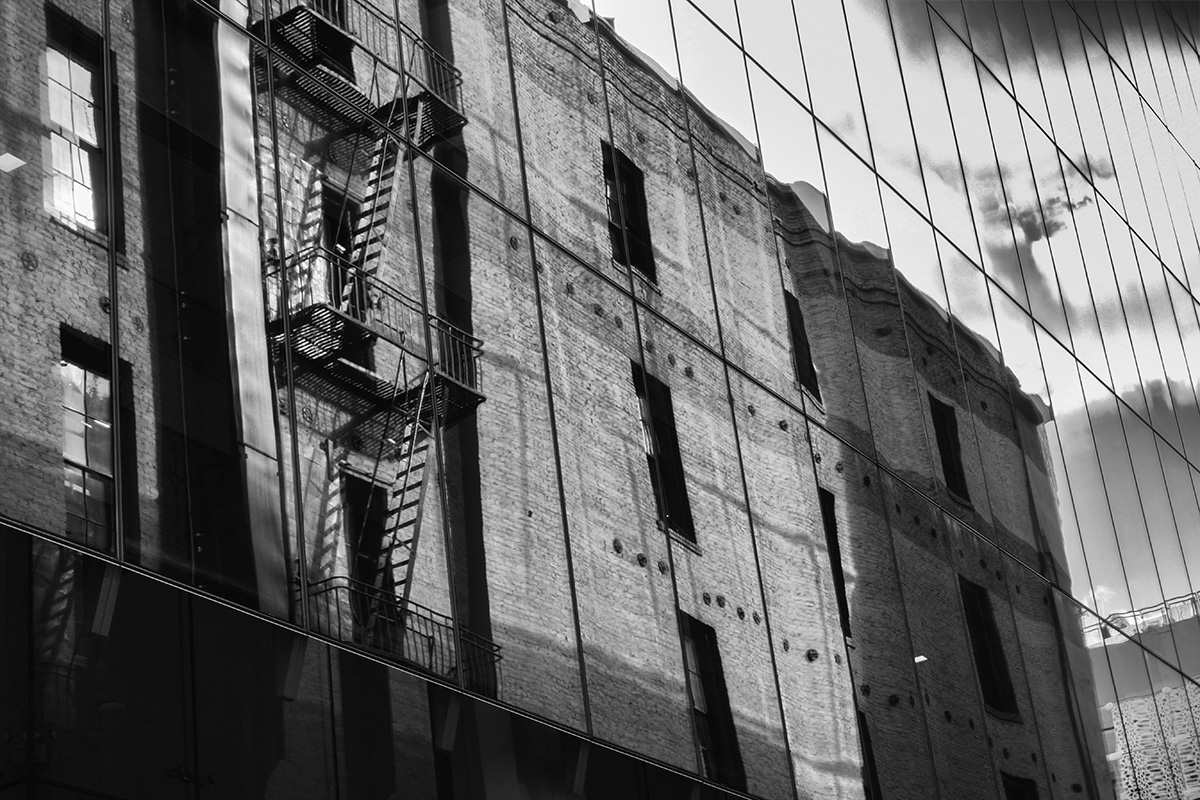B&W Wednesday: Fire Escape