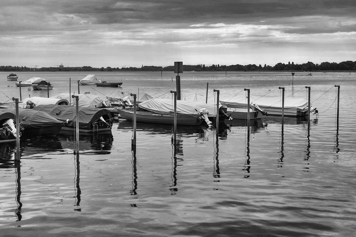B&W Wednesday: Boats