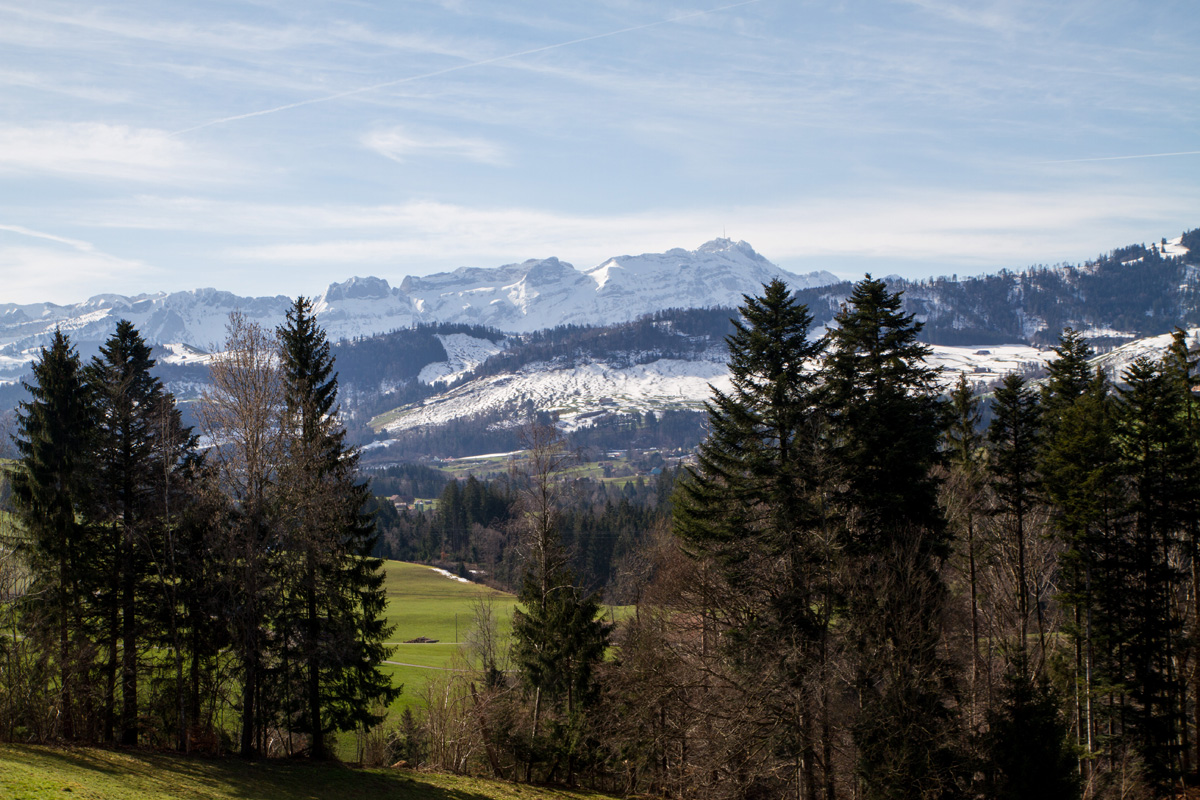 Hiking through Appenzell
